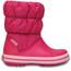 Crocs Winter Puff Boots Kids Candy Pink
